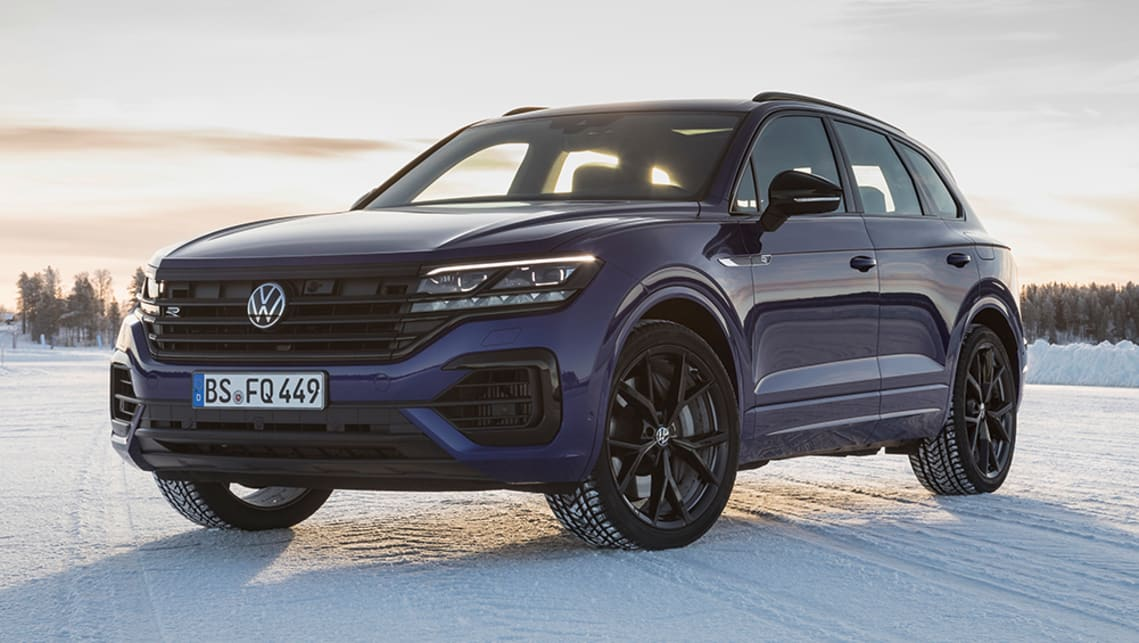 New Vw Touareg R 2021 Detailed Performance Suv Gets 340kw Of Plug In Hybrid Power Car News Carsguide