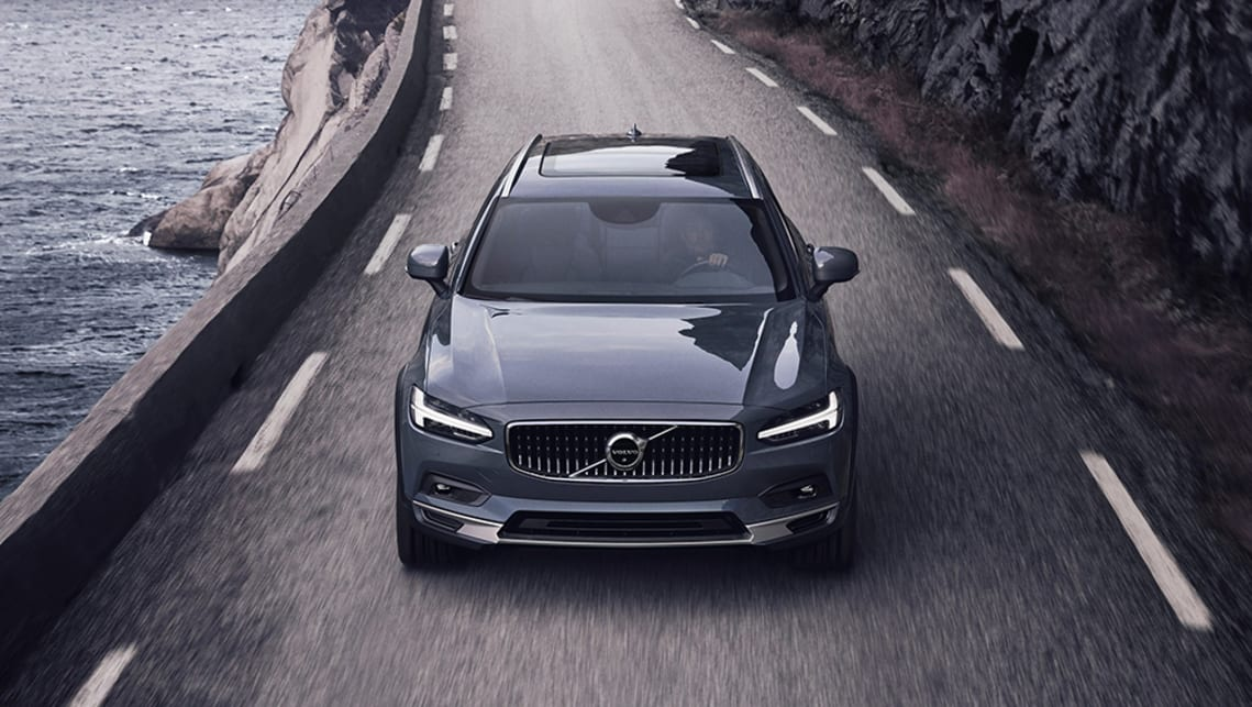 New Volvo S90 And V90 2020 Detailed Facelifted Cross Country Wagon To Travel Solo In Australia Car News Carsguide