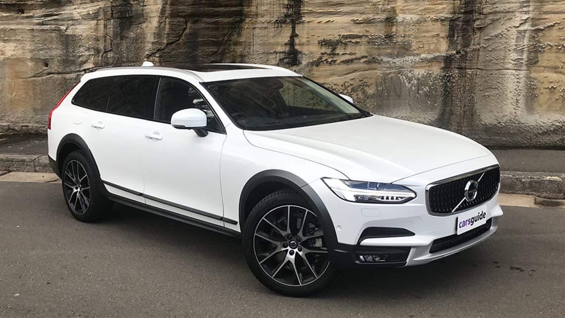 For more than 60 years wagons have been part of the Swedish brand's DNA, and the latest expression is the V90 Cross Country. (image: James Cleary)