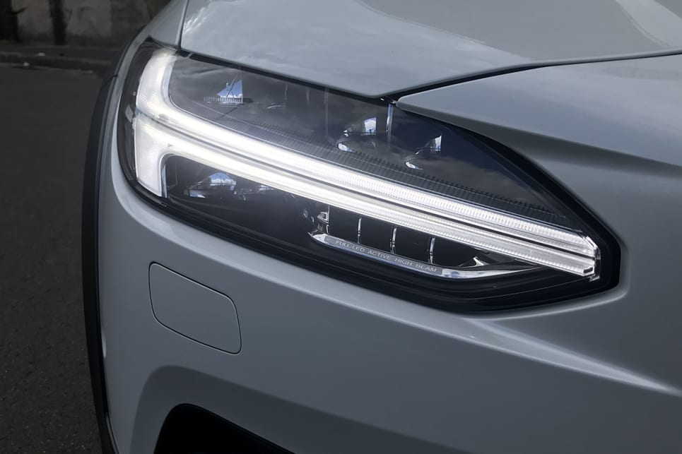 It also employs current signature elements including the dramatic 'Thor's Hammer' LED headlights. (image: James Cleary)
