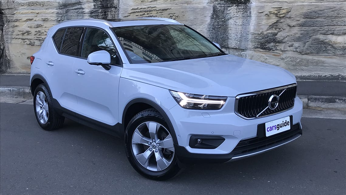 Volvo Xc40 2020 Review Momentum Carsguide