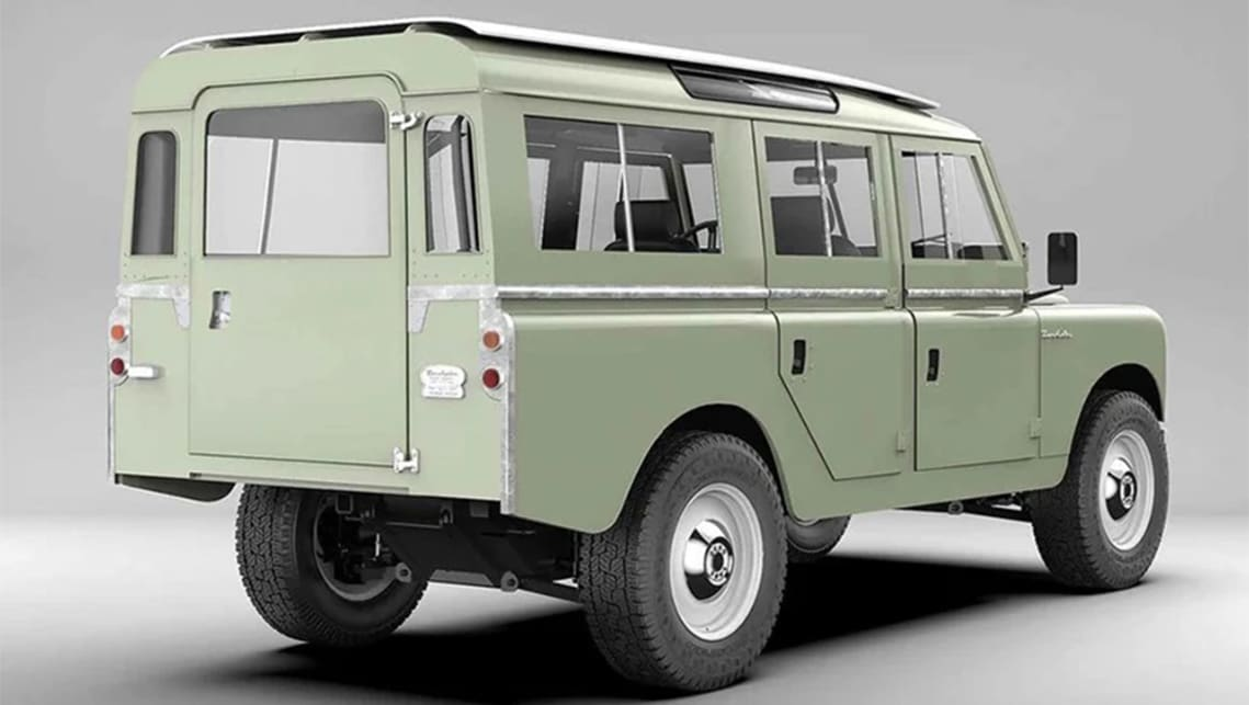 These innovative Defender retro-mods starts at USD $185,000 (AUD $257,932).