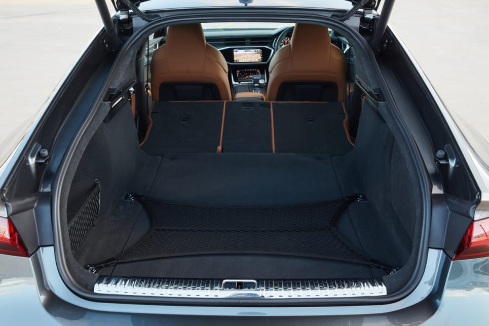 The boot's 535-litre cargo capacity is great and only about 30 litres less than what you have in the RS 6 Avant.