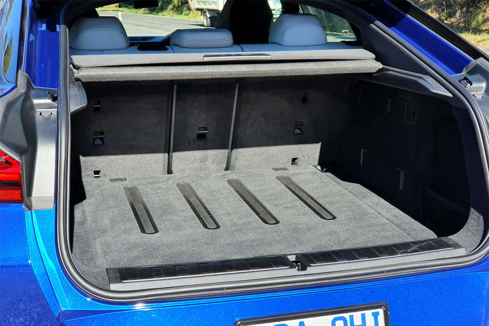 With the rear seats in place boot space is rated at 580-litres.