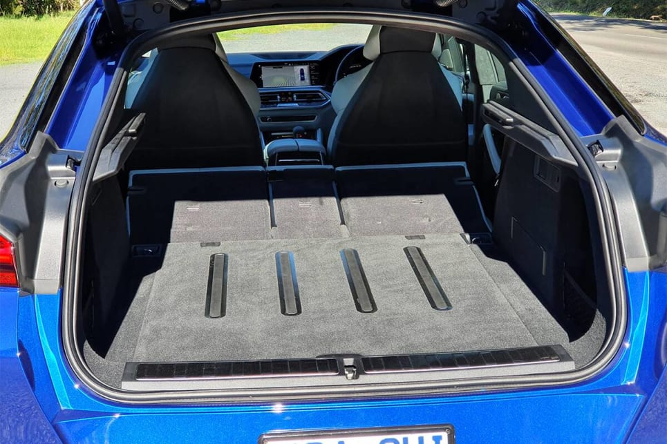 Fold the rear seats down and cargo capacity grows to 1539L.