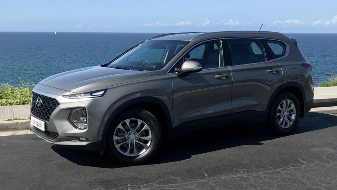 hyundai santa fe 2020 review v6 active carsguide hyundai santa fe 2020 review v6 active