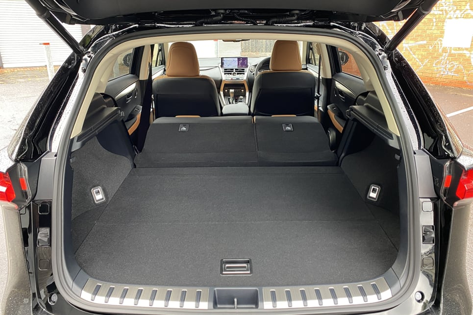 Fold the rear seats down and cargo capacity grows to 1545L.