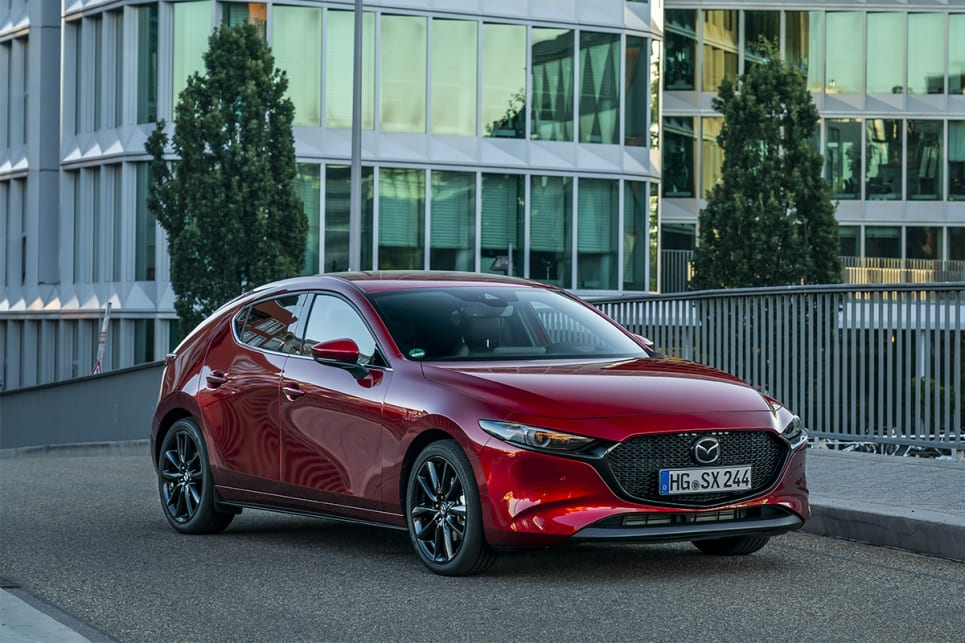 The new Mazda3 is still gorgeous.