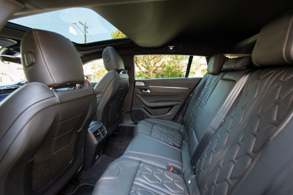 Rear-seat passengers in the Sportswagon get a pretty good deal, too, with better headroom than on the Fastback.