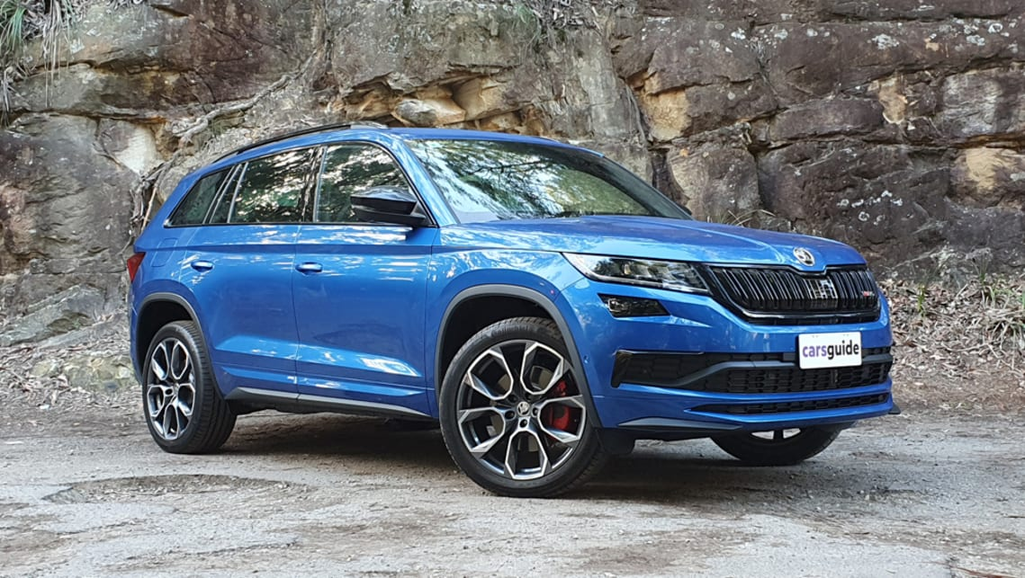 Skoda Kodiaq Rs 2020 Review Family Test Carsguide