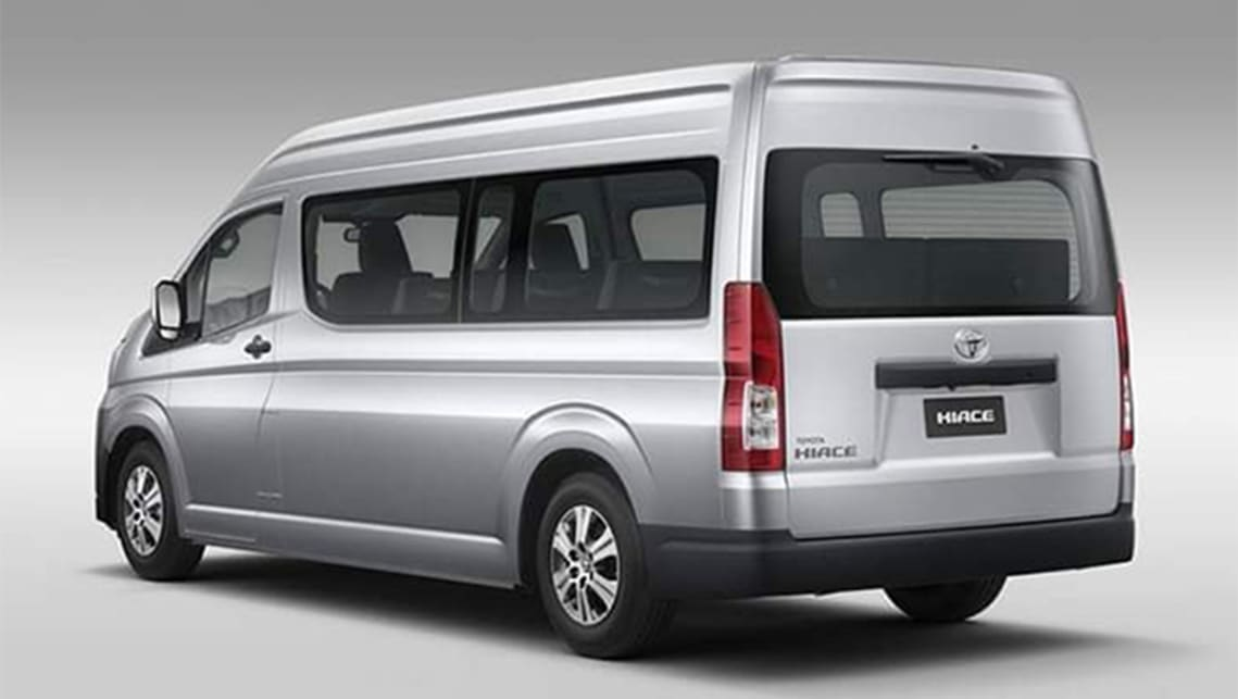 The current HiAce has been on sale since 2004.