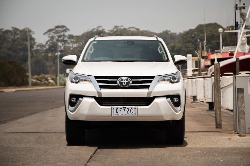 The exterior of the Fortuner is starting to look a bit stale.