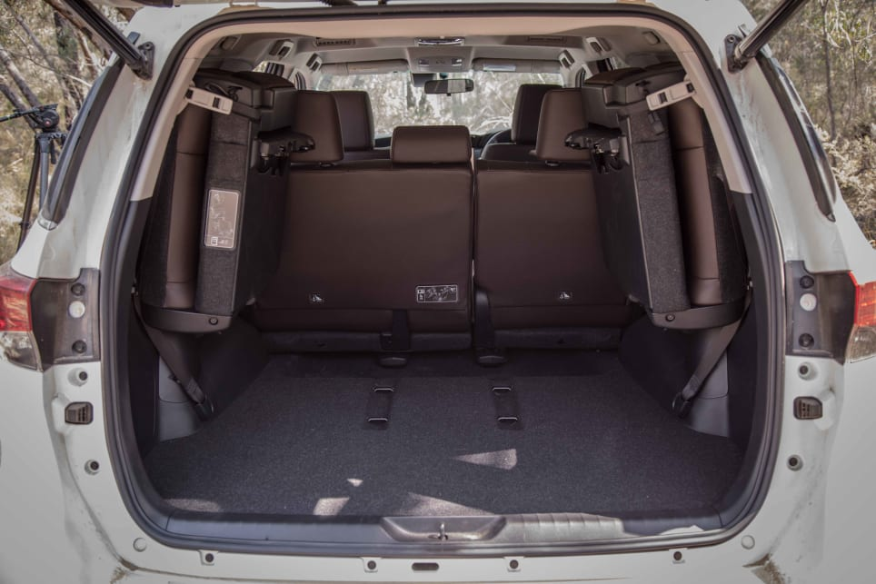 Stow away the third-row and cargo space increases to 716 litres.