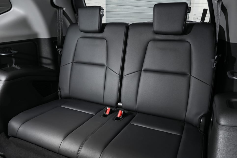 If you choose a three-row CR-V, you get rear row air vents and cupholders. VTi L7 pictured.