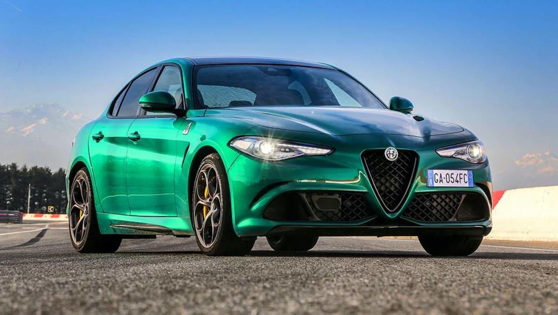 New Alfa Romeo Giulia Quadrifoglio 2021 detailed