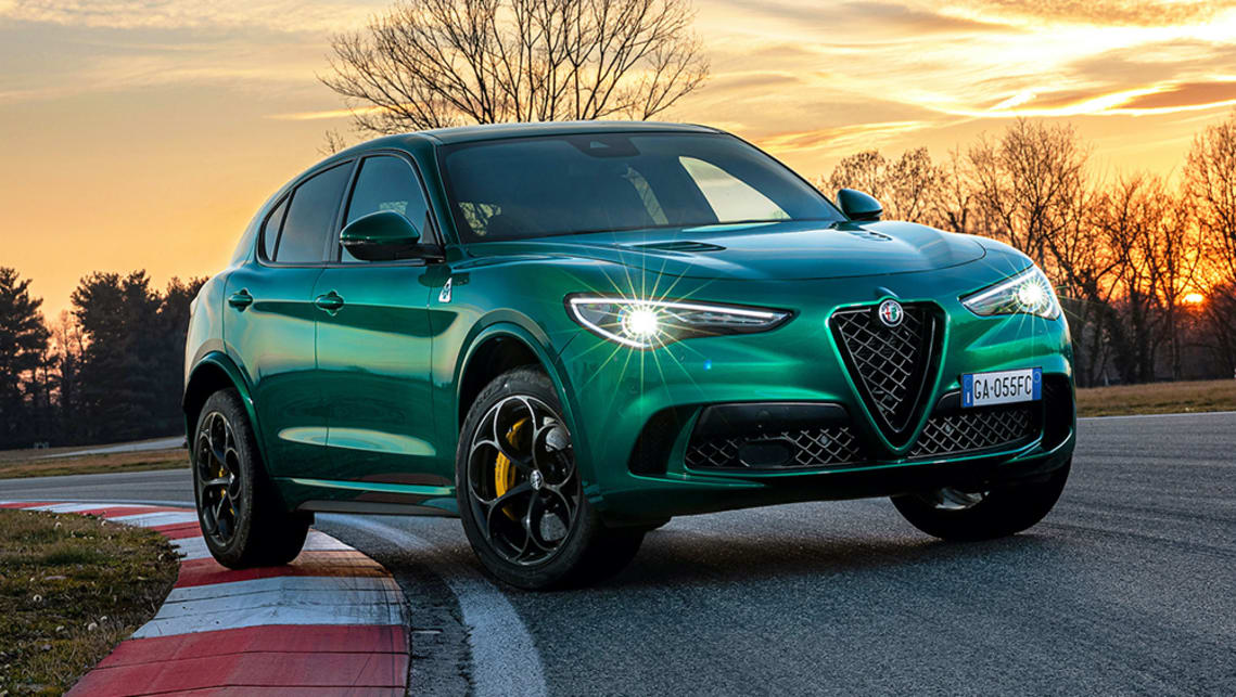 New Alfa Romeo Stelvio Quadrifoglio 2021 detailed