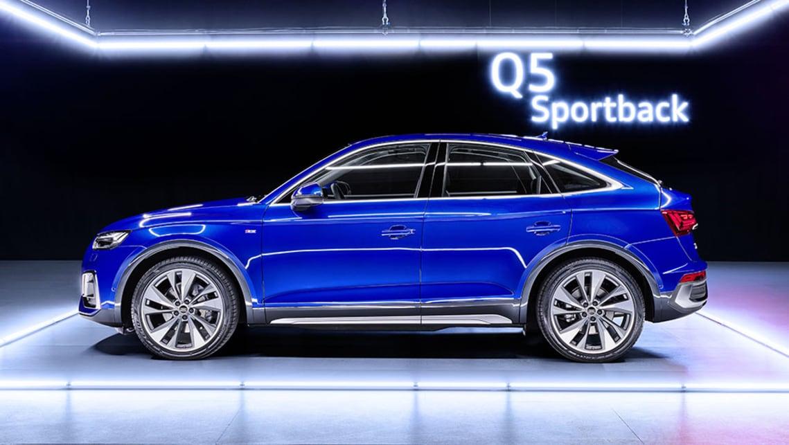 New Audi Q5 Sportback 2021 detailed: BMW X4, Mercedes-Benz ...
