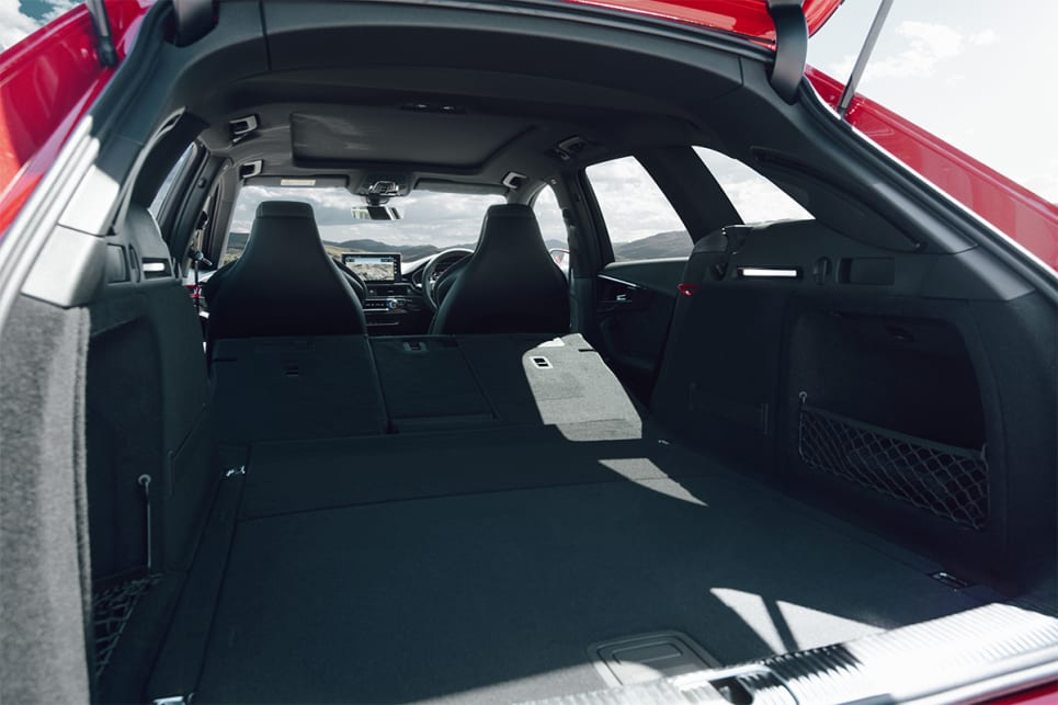 With the rear seats folded flat, boot space is rated at 1495 litres.