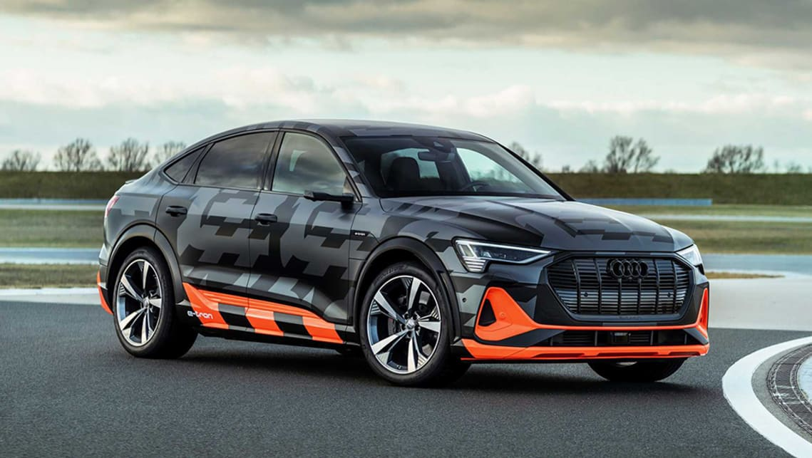 New Audi E Tron S 2021 Detailed Tesla Rivalling High Performance Electric Suv Powers Up Car News Carsguide