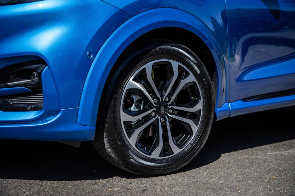 The Puma has a cute and stylish exterior (pictured: Puma ST-Line).