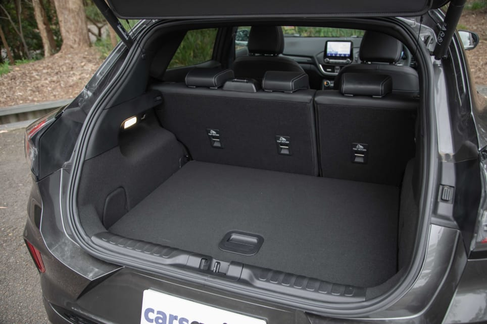 Boot space is excellent at 410 litres (pictured: Puma ST-Line V).