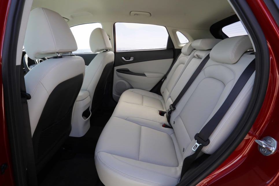 The Kona is neither the biggest nor smallest in terms of interior space (image: Highlander).