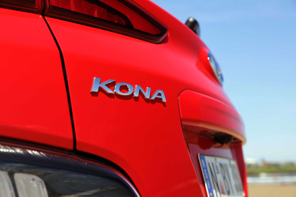 The biggest changes in the exterior design come with the Kona N Line cars (image: N Line Premium).