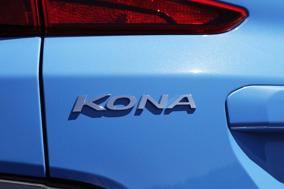 The biggest changes in the exterior design come with the Kona N Line cars (image: N Line).