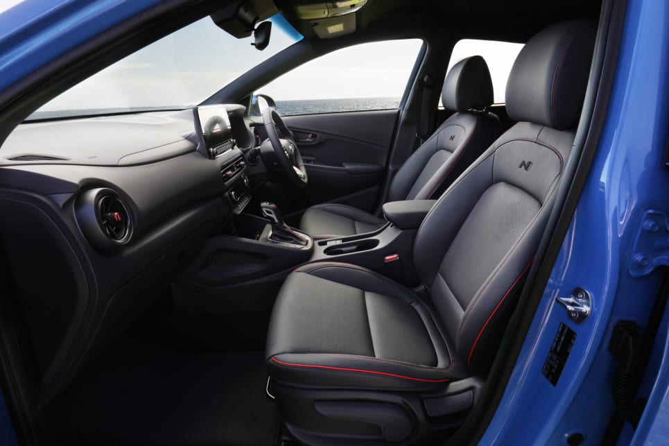 The Kona is neither the biggest nor smallest in terms of interior space (image: N Line).