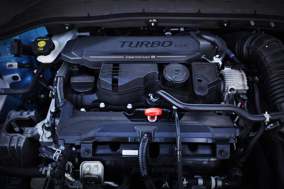 N Line cars get a punchier 1.6-litre turbocharged engine (image: N Line).