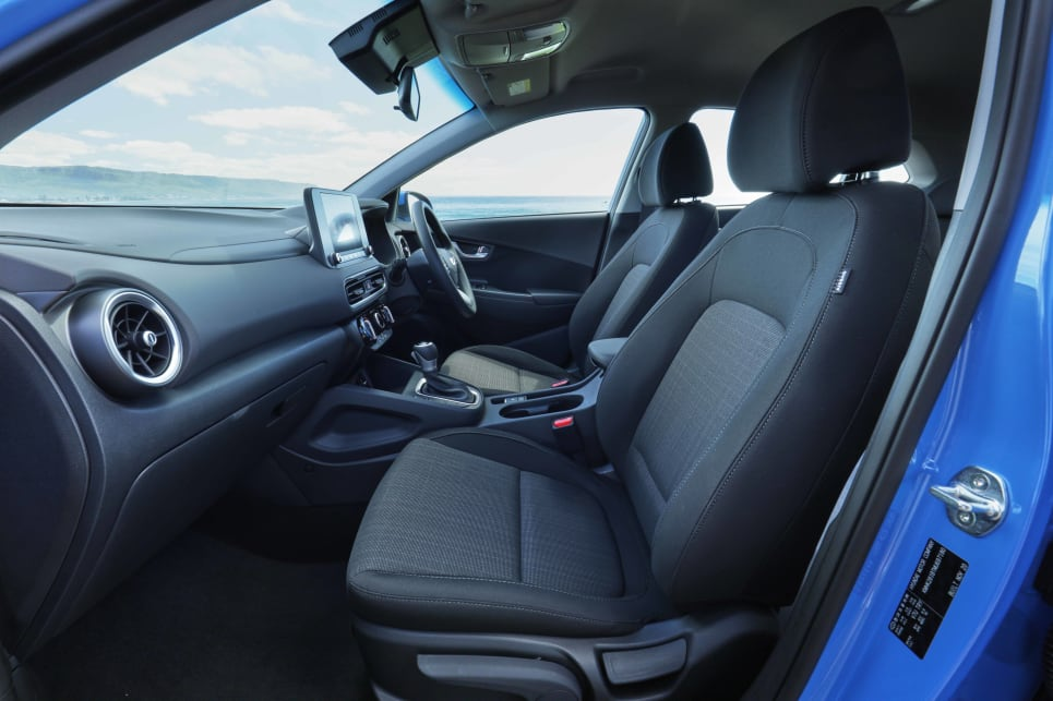 The Kona is neither the biggest nor smallest in terms of interior space (image: Kona).