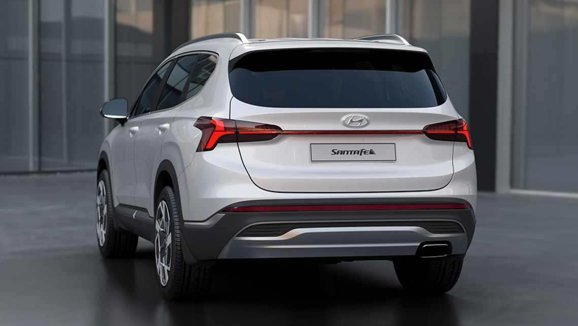 New Hyundai Santa Fe 2021 detailed: Kia Sorento rival's ...