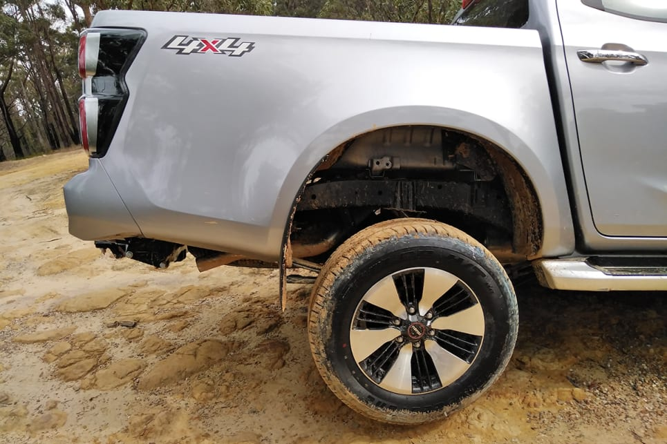 Isuzu D-Max 18-inch alloys (standard on the LS-U pictured).