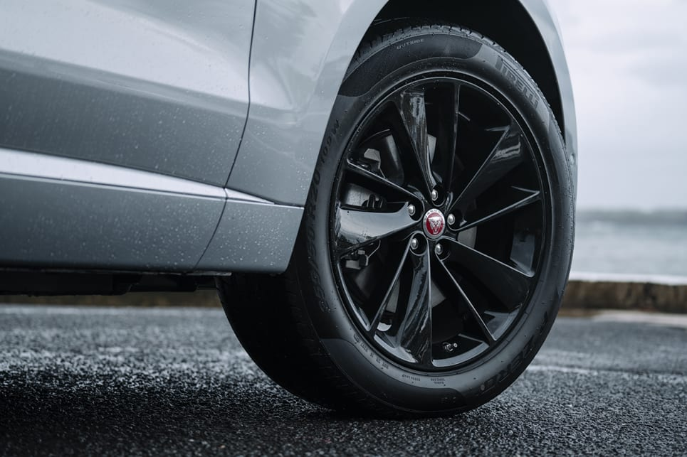 The S has 20-inch alloys.