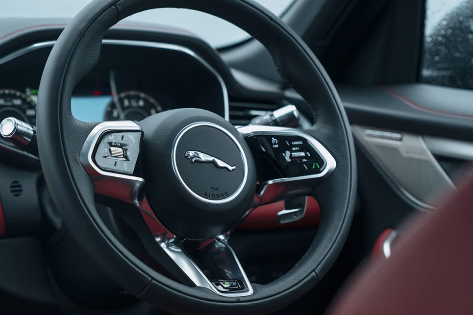 2021 Jaguar F-Pace | interior gallery | press images