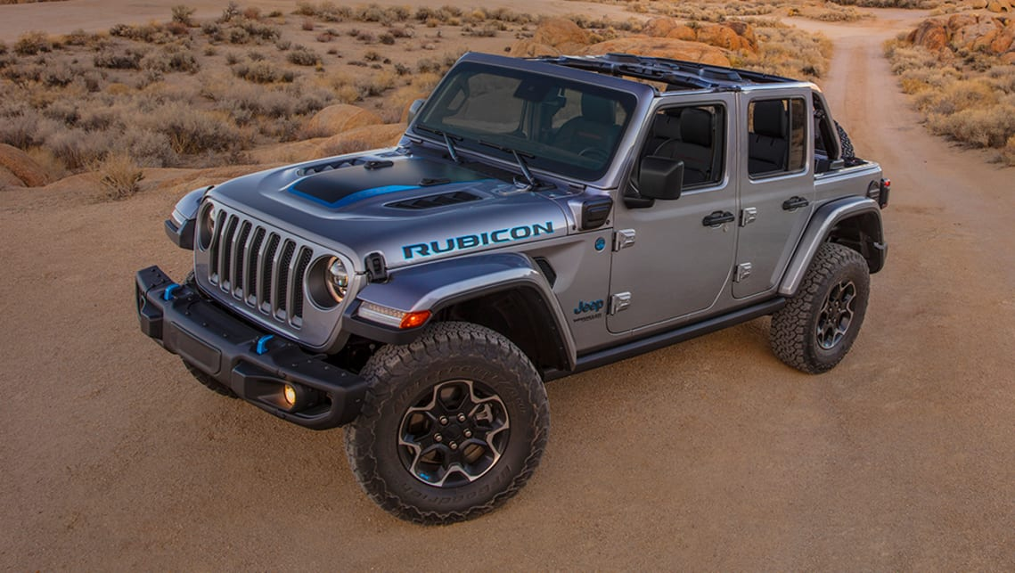 New Jeep Wrangler 4xe 2021 Detailed Plug In Hybrid Ford Bronco Rival Throws Big Power Punch Car News Carsguide