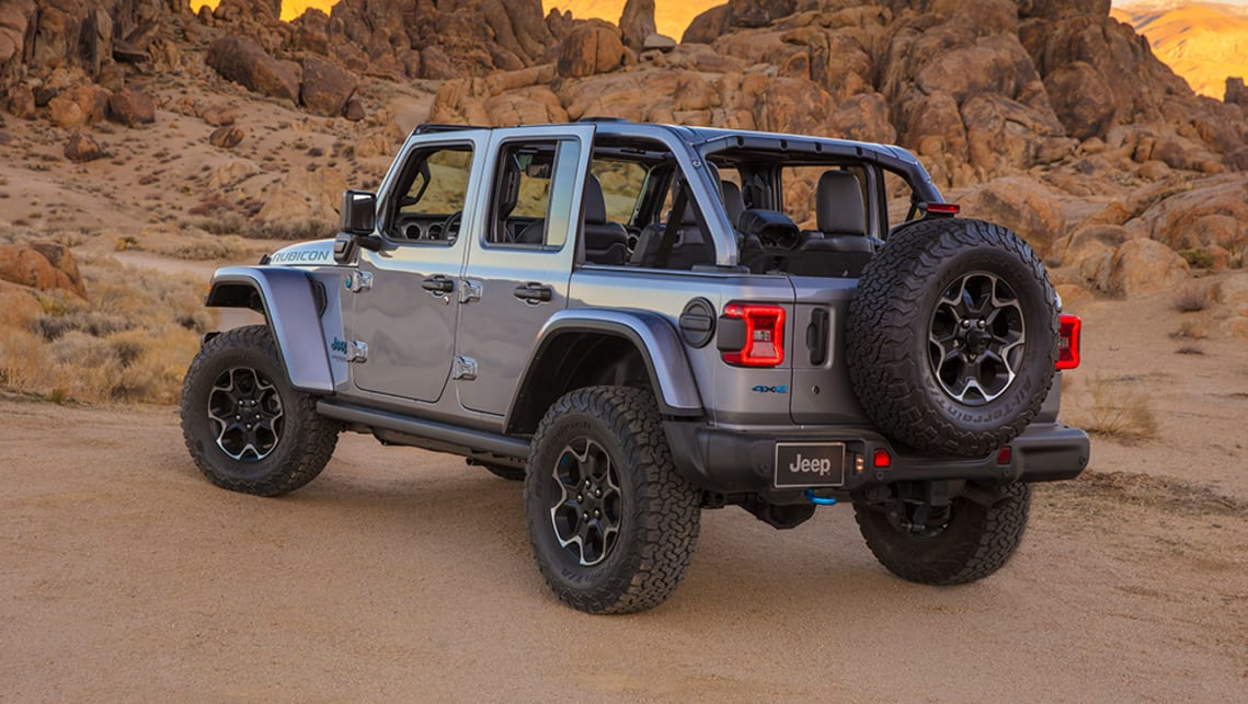 new jeep wrangler 4xe 2021 detailed: plug-in hybrid ford