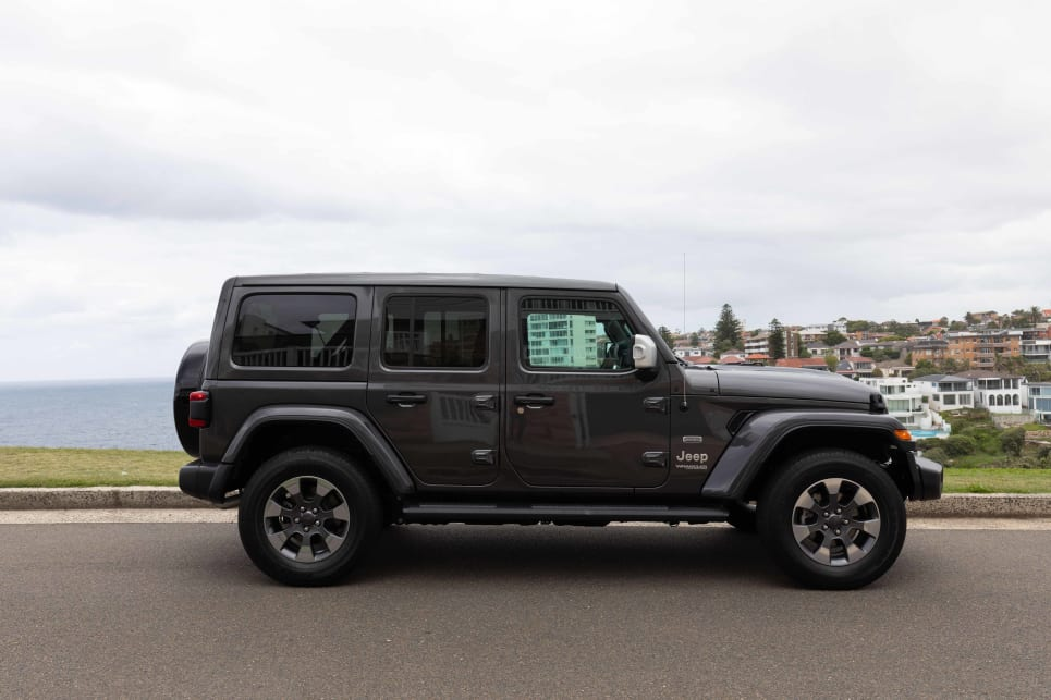 The Jeep Wrangler has been designed really well with a blend of old and new.