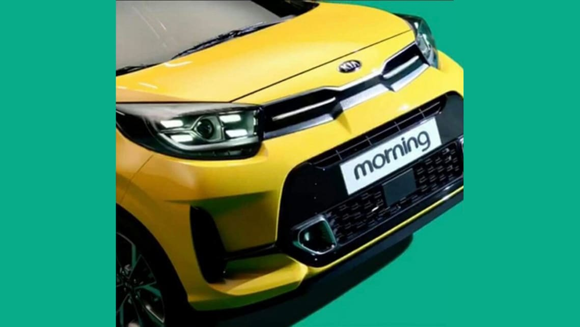 New Kia Picanto 2021 Leaked Mitsubishi Mirage Rival Gets A Mid Life Facelift Car News Carsguide