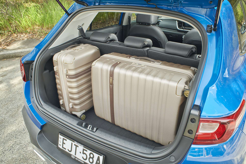 Boot space is rated at 352 litres. (GT-Line variant pictured)