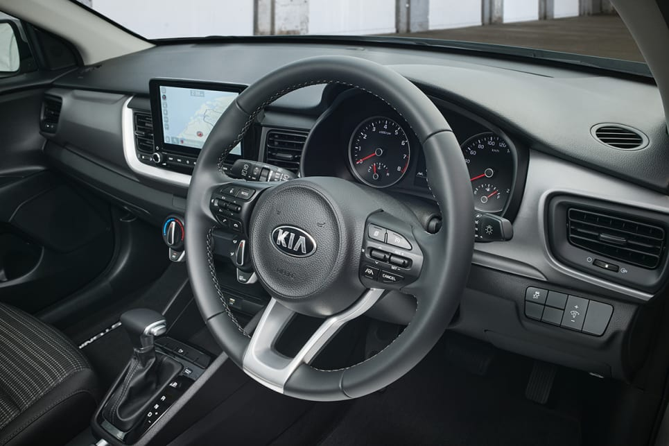 The Sport scores a premium steering wheel. (Sport variant pictured)