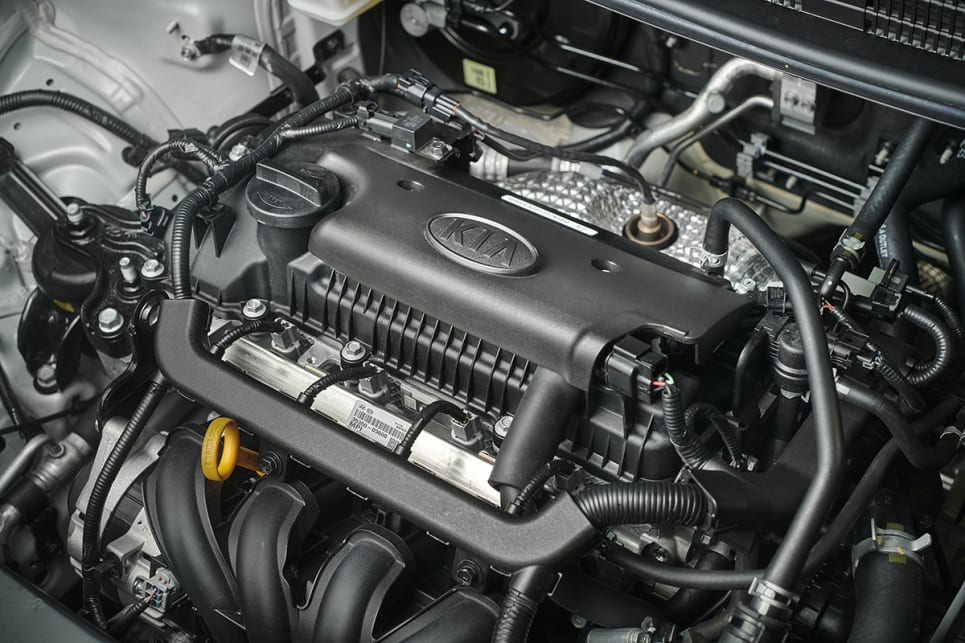 The 1.4-litre four-cylinder engine produces 74kW/133Nm (Sport variant pictured)