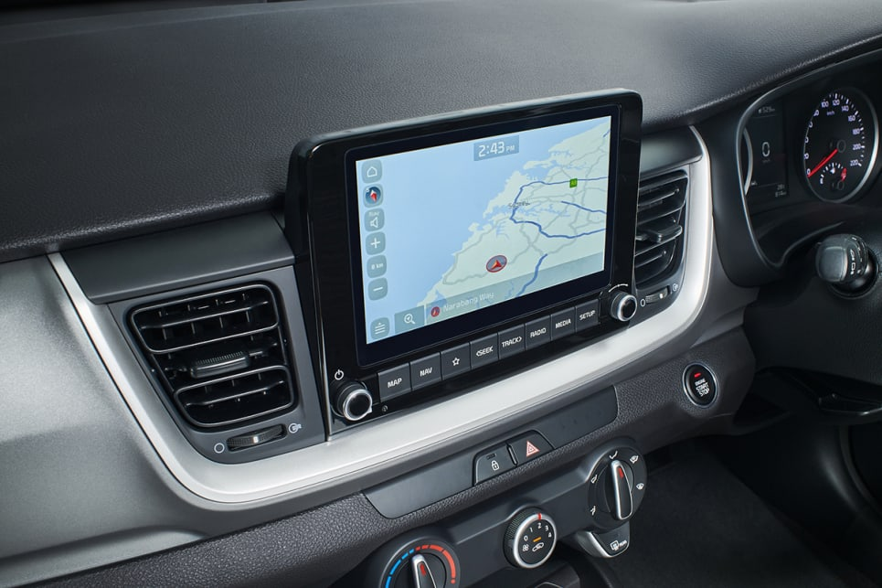 All Stonics come with an 8.0-inch touchscreen. (Sport variant pictured)