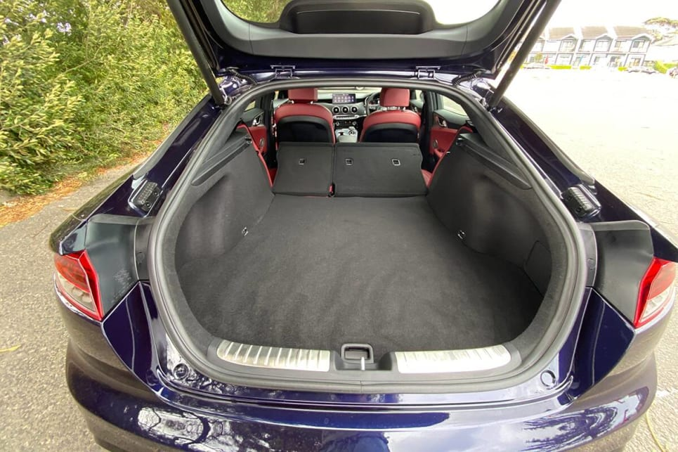 Fold the rear seats down and cargo capacity grows to 1114 litres.
