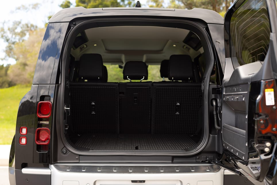 I'm testing the five-seater model so the boot is big (972 litres). (image: Dean McCartney)