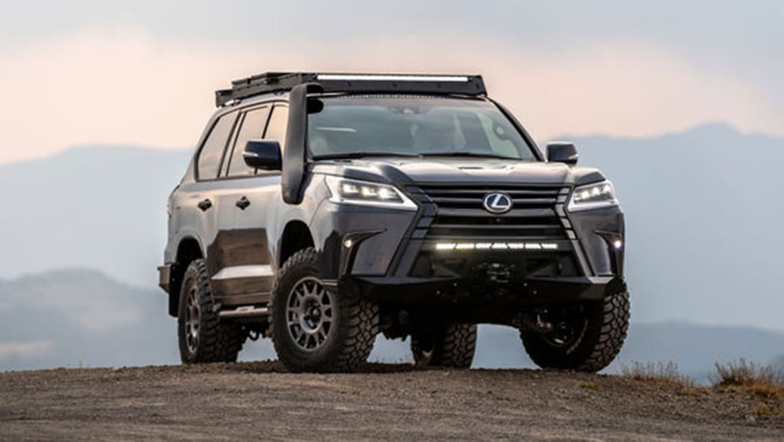 Lexus Supercharges Its Toyota Land Cruiser Based Lx Suv To Build The Tough J201 Car News Carsguide