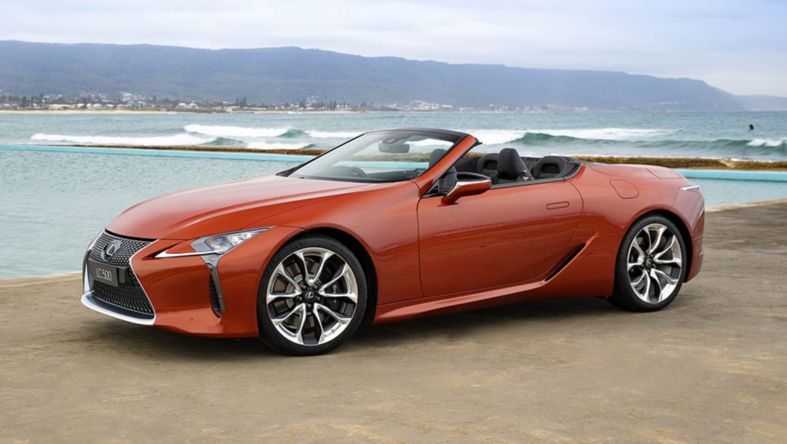 Lexus Lc Convertible 2021 Review Carsguide