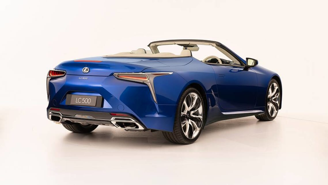 2021 Lexus LC500 Convertible Special Edition