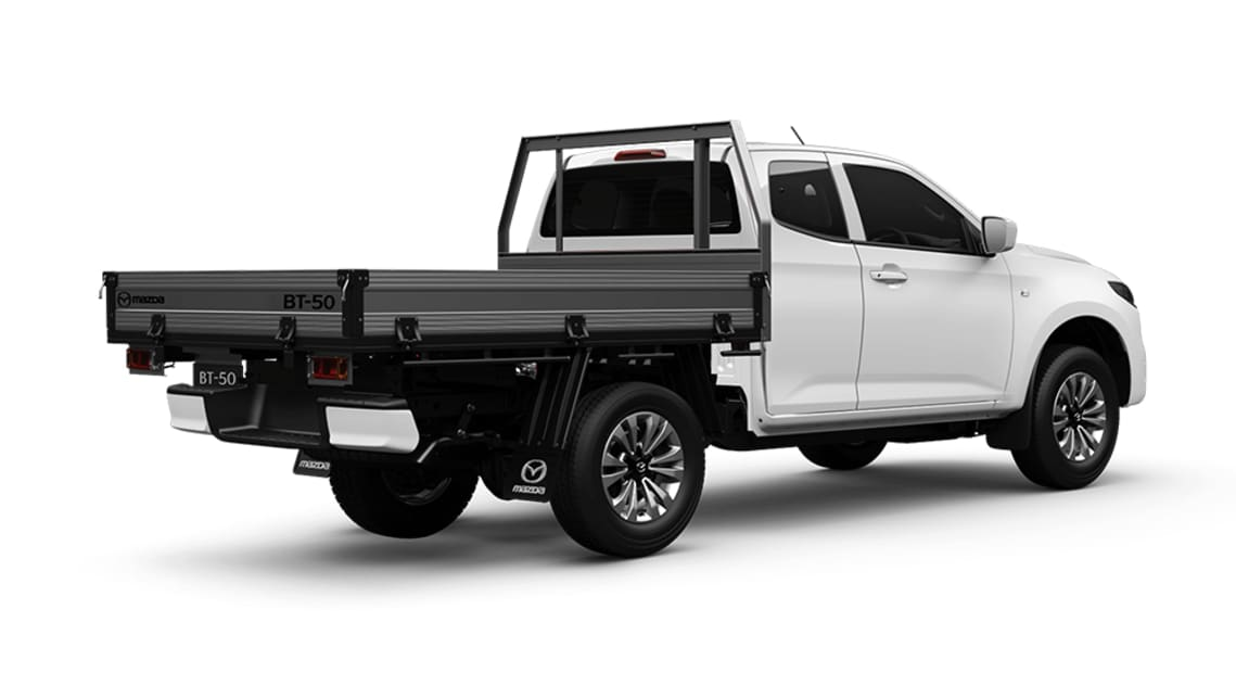 2021 Mazda BT-50 Freestyle Cab Chassis