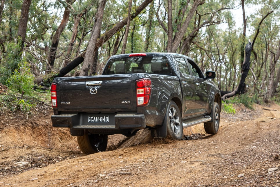 The Mazda has shown that it can handle tough terrain and do it all reasonably comfortably (image credit: Tom White).